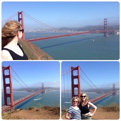 north tower of Golden Gate Bridge