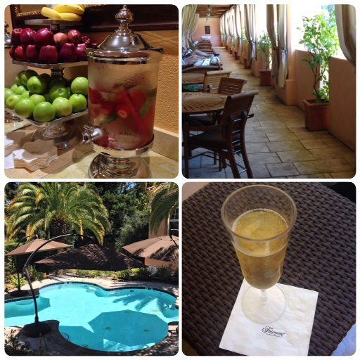 Spa in California wine country