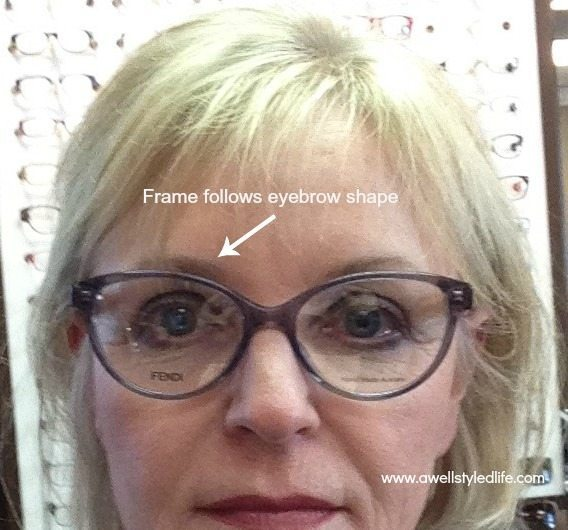 rimless eyeglasses for women over 50