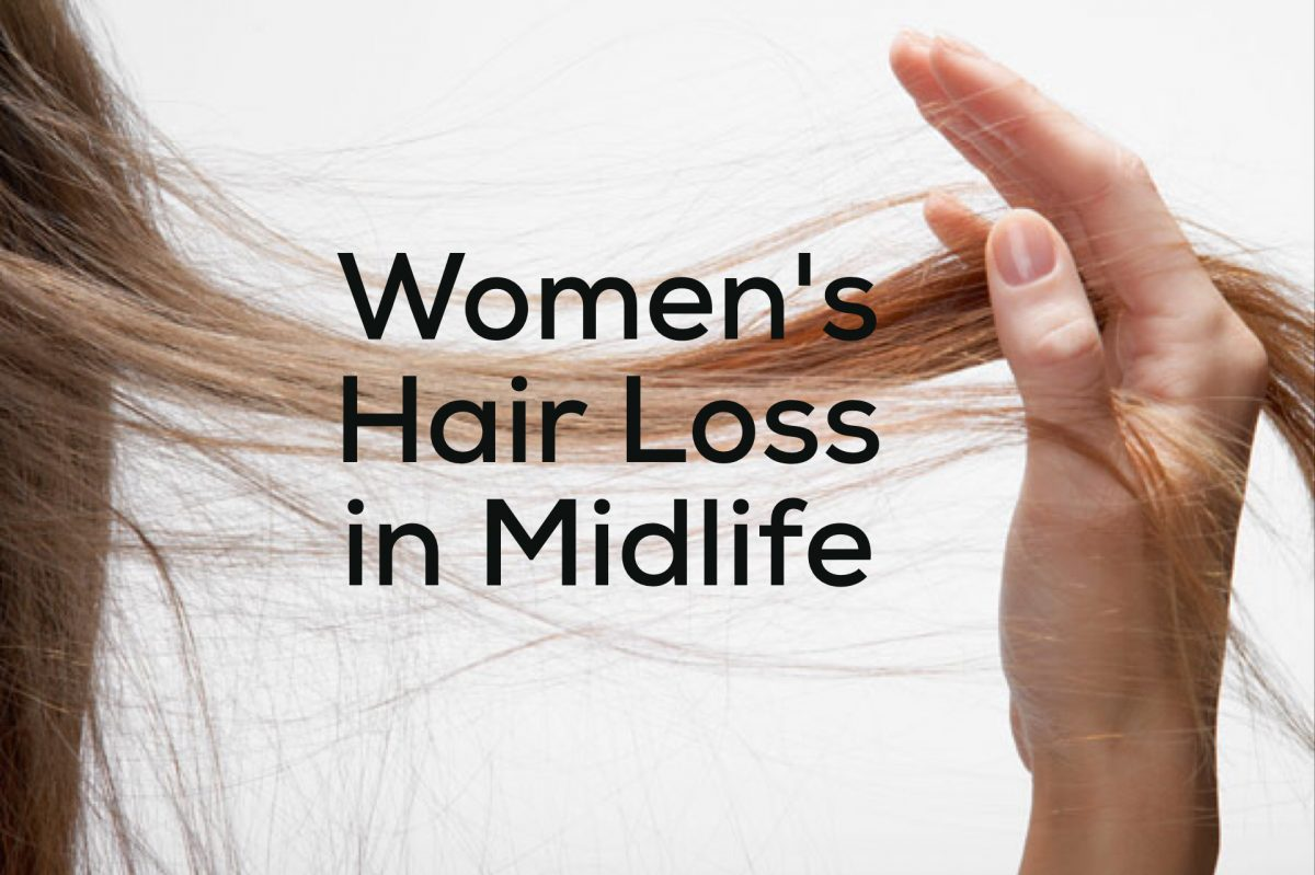 Women's Hair Loss in Midlife