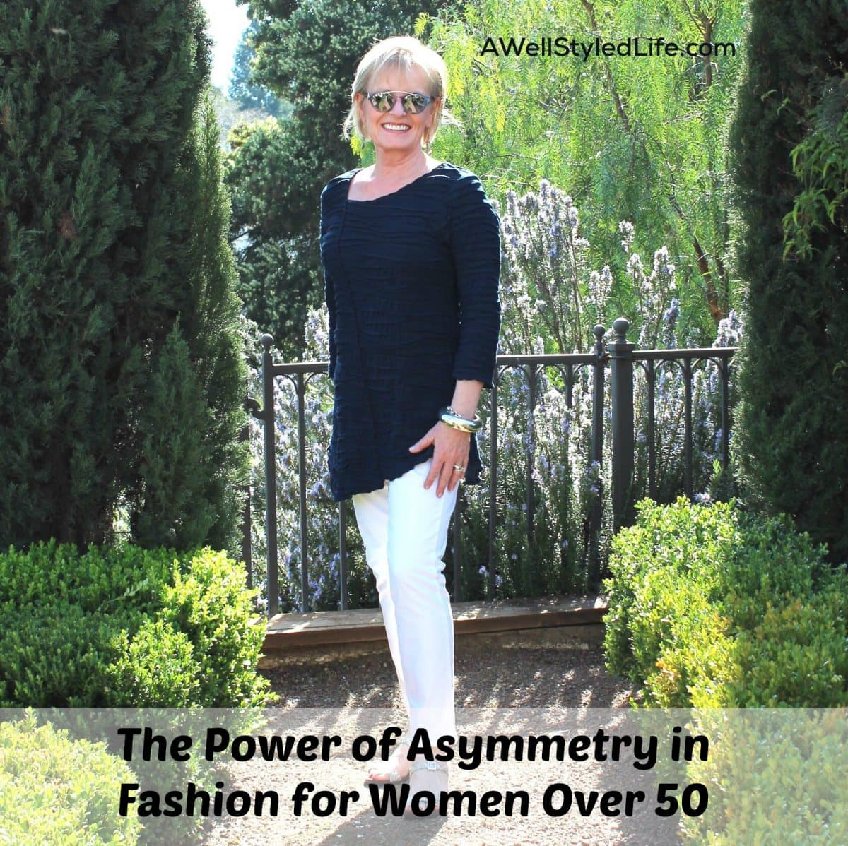The Power of Asymmetry in Fashion for Woman Over 50