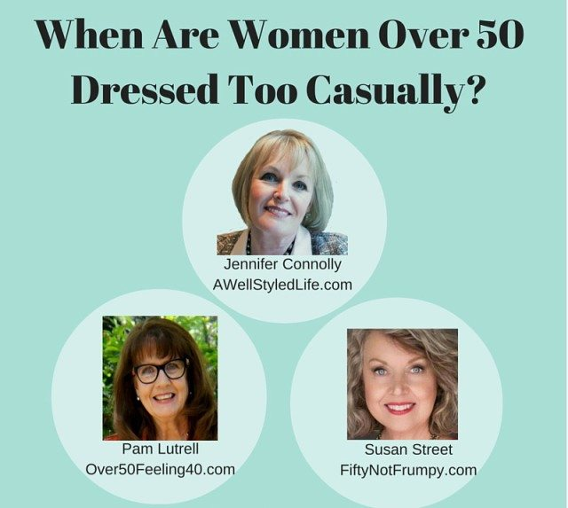 When Are Women Over 50 Dressed too Casually-