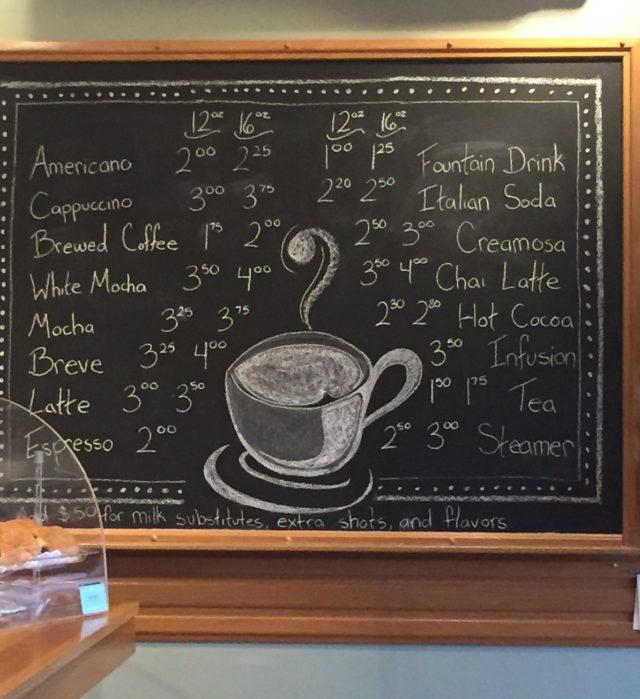 Cafe on Oceanside. Oregon