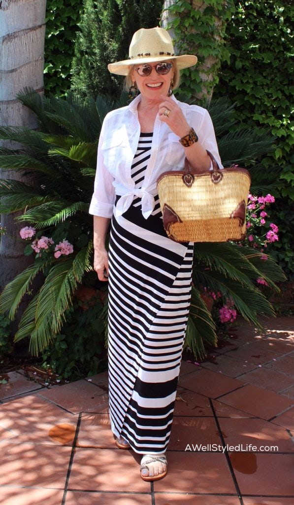 Cruise wear for women over 50 by Jennifer at A Well Styled Life