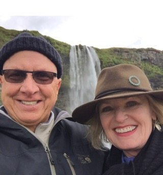 Jennifer and Kevin Connolly in Iceland