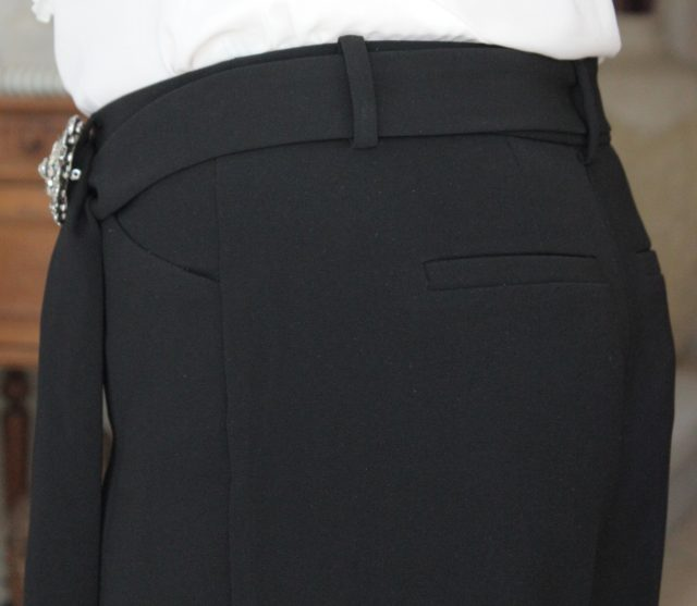 Chico's Pleated Belted trousers