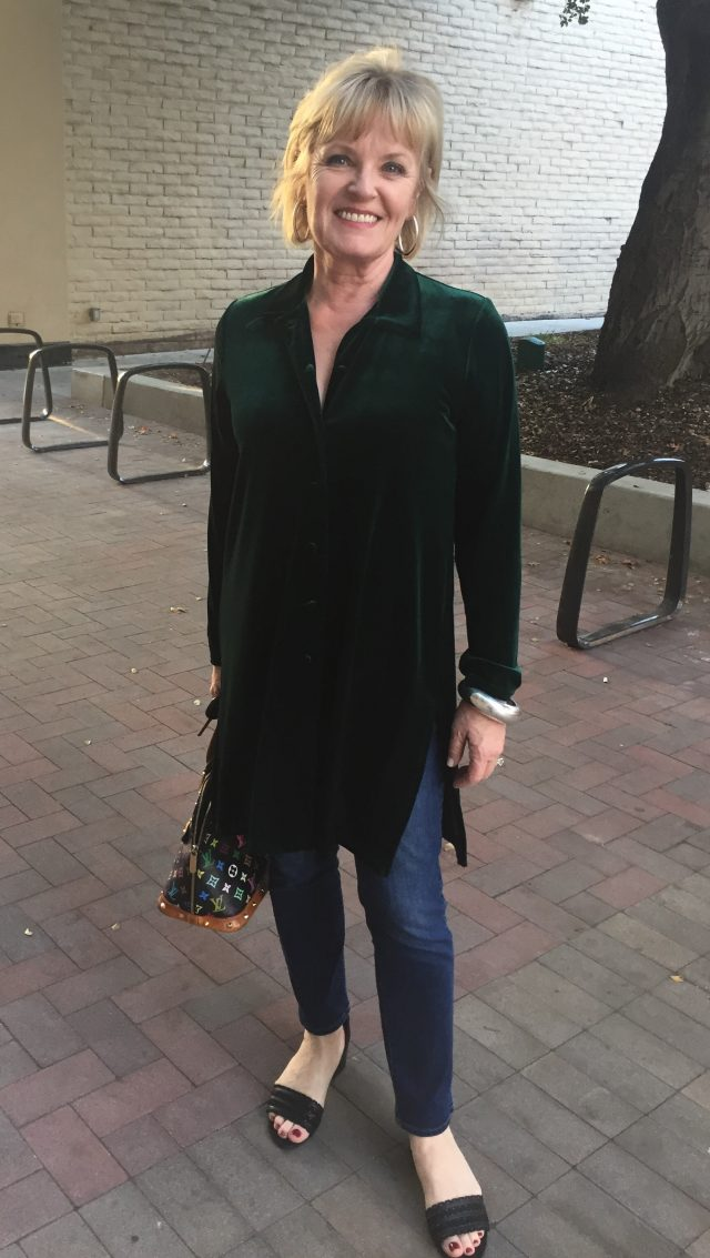 Wearing Color for Women Over 50