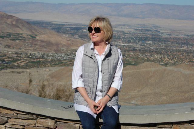 overlooking Palm Desert