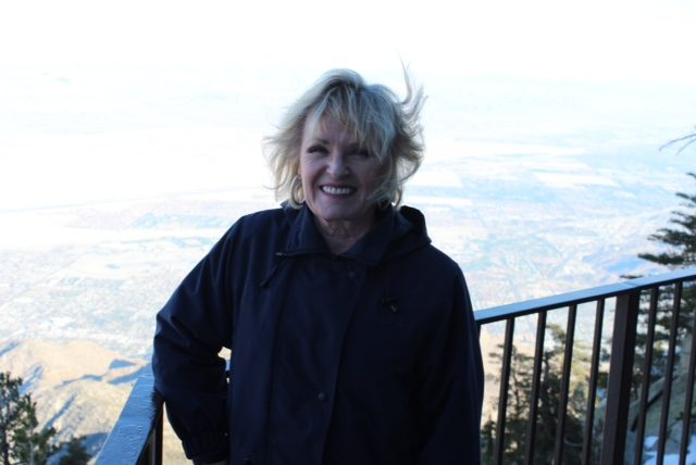 On top of the Mt San Jacinto tram