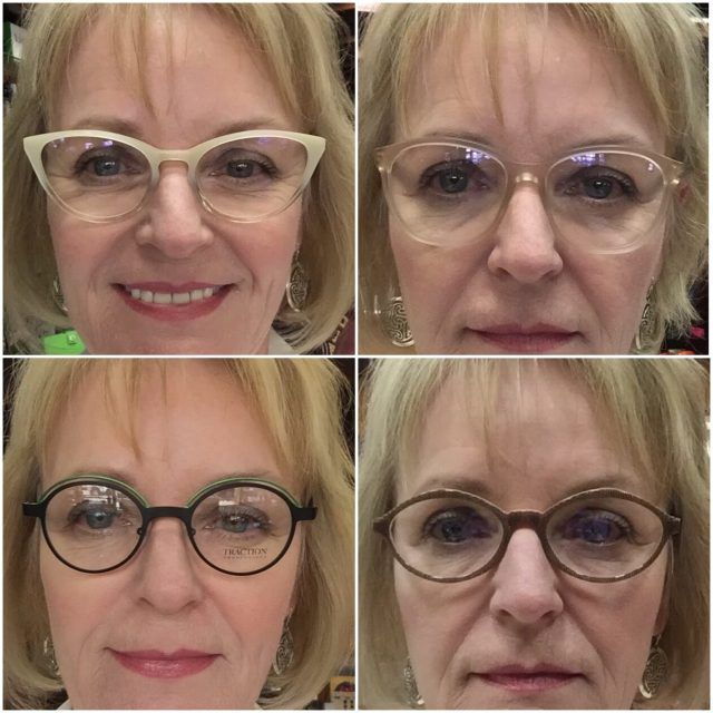 choosing the most flattering eyeglass frames