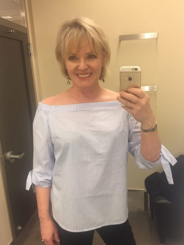 Tie Sleeve Off the Shoulder Top from Nordstrom