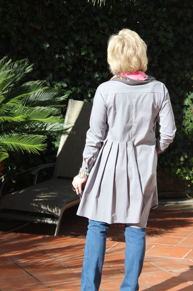 back detail of Lexi Tunic
