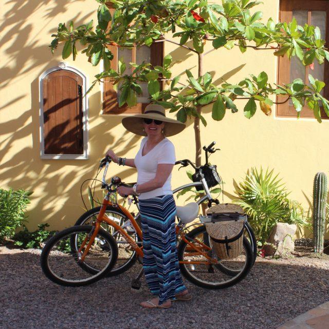 grandmother chic in Loreto bay
