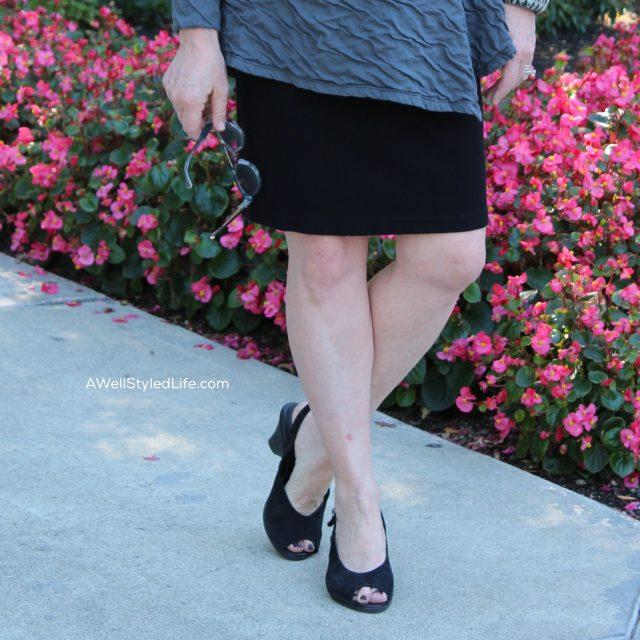 flattering skirt length
