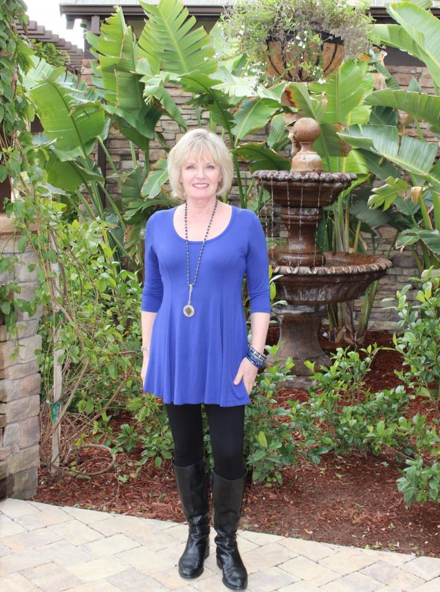 Fit and Flare tunic by Covered Perfectly