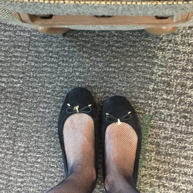black flats for travel