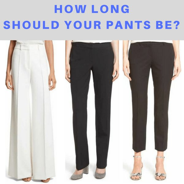 How Long Should Your Pants Be?