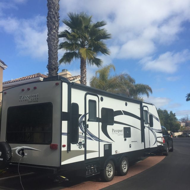 packing our rv trailer