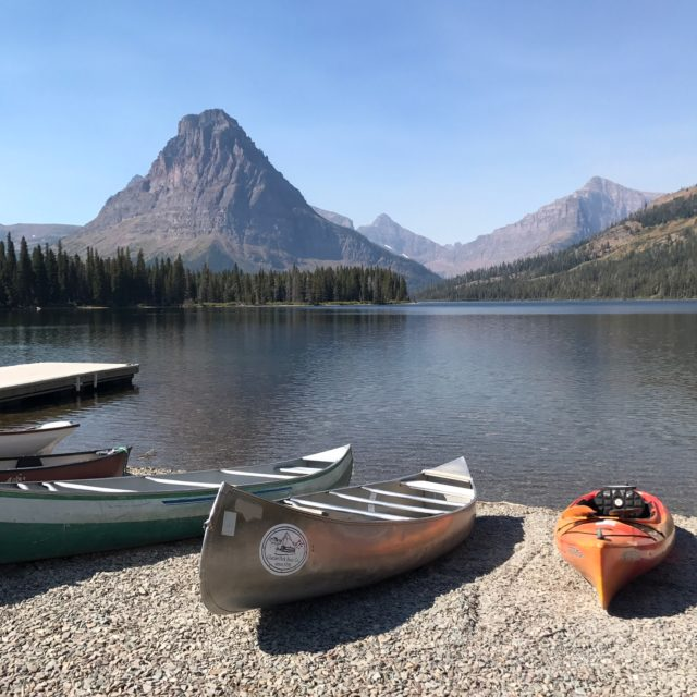 Two Medicine Lake in Montana