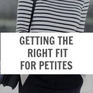 Getting the Right Fit for Petites
