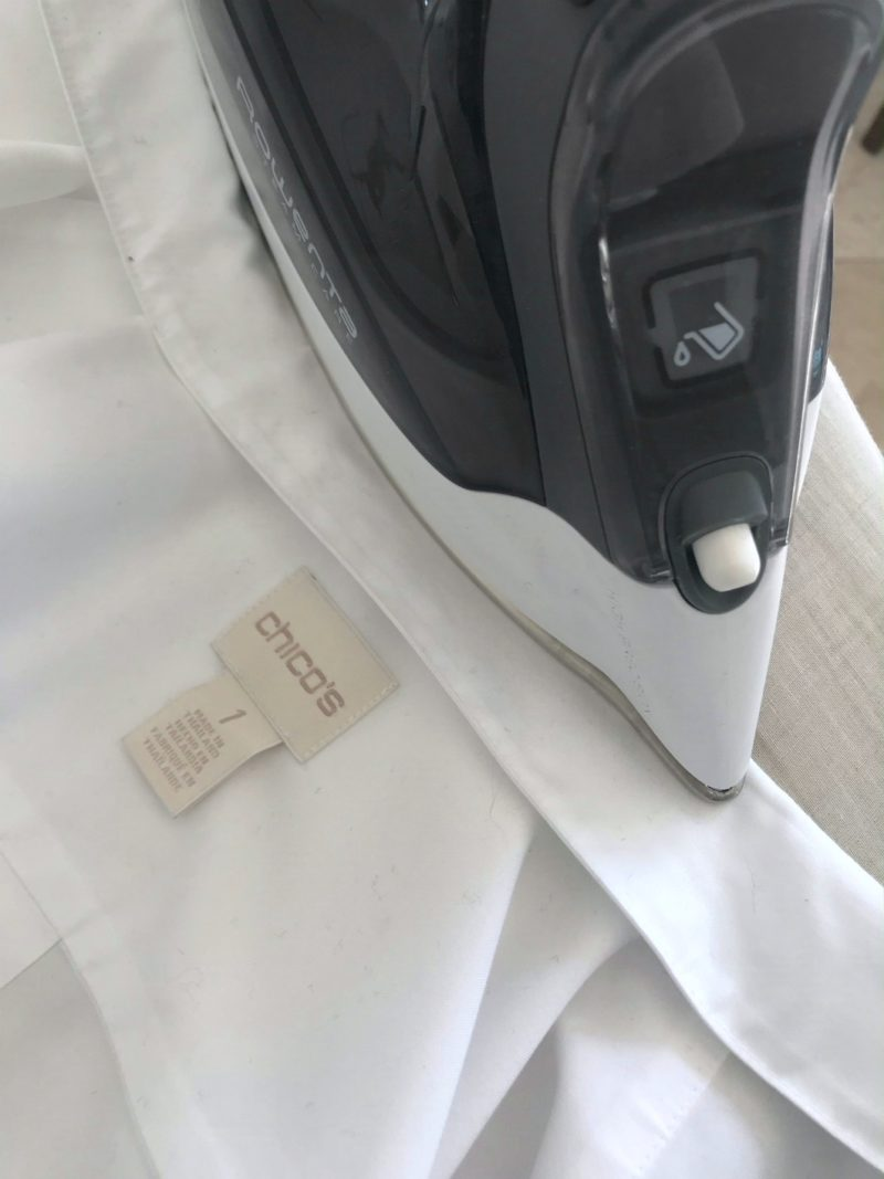 Ironing technique to keep your collar popped on A Well Styled Life