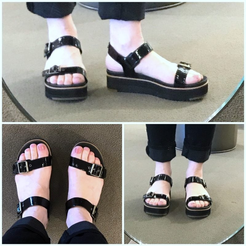 Ugg sandals on A Well Styled Life
