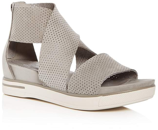 Eileen Fisher platform sandal from Bloomingdales on A Well Styled Life