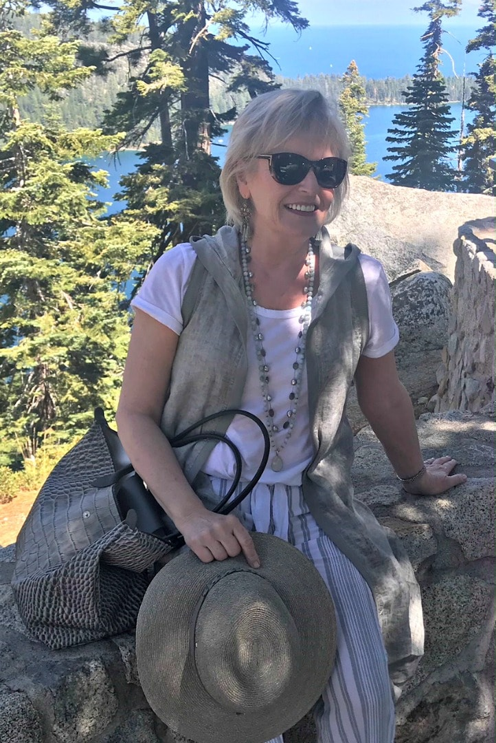 Jennifer Connolly of A Well Styled Life exploring Emerald Bay