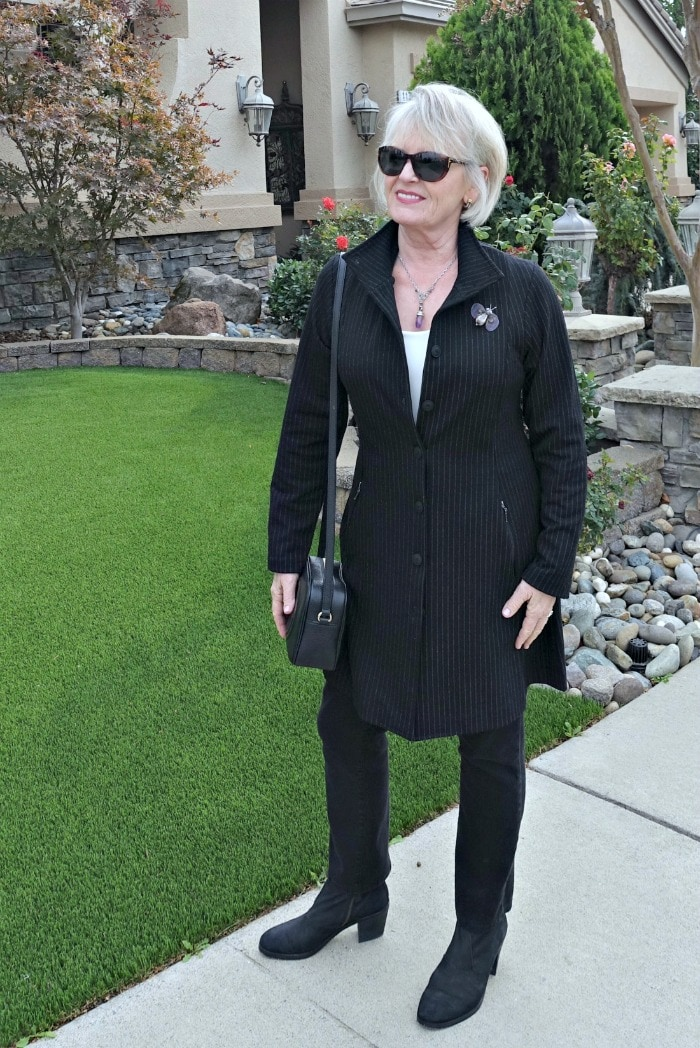 jennifer Connolly wearing Defacto Jacket from Artful Home