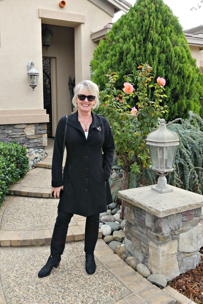 styling defacto jacket from Artful Home on A Well Styled Life