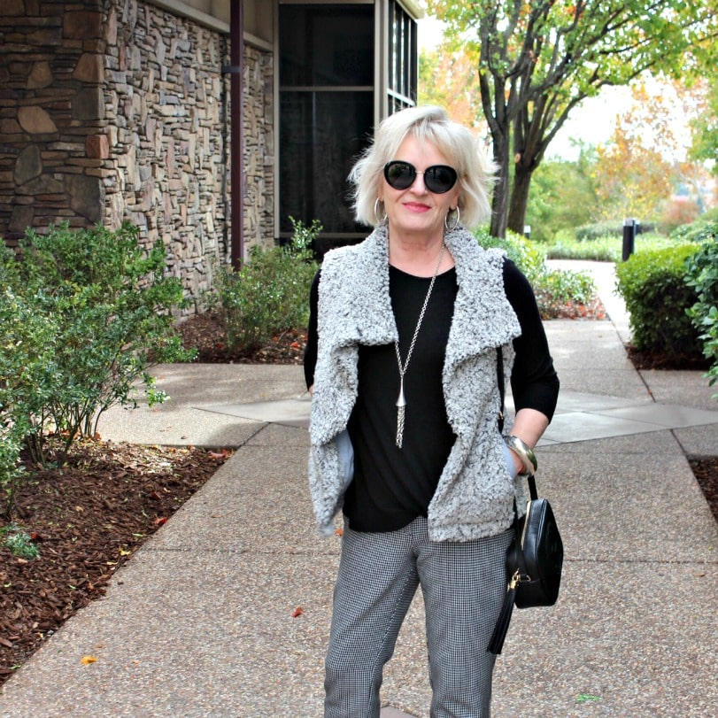 Look of the Week: Mixing Grays