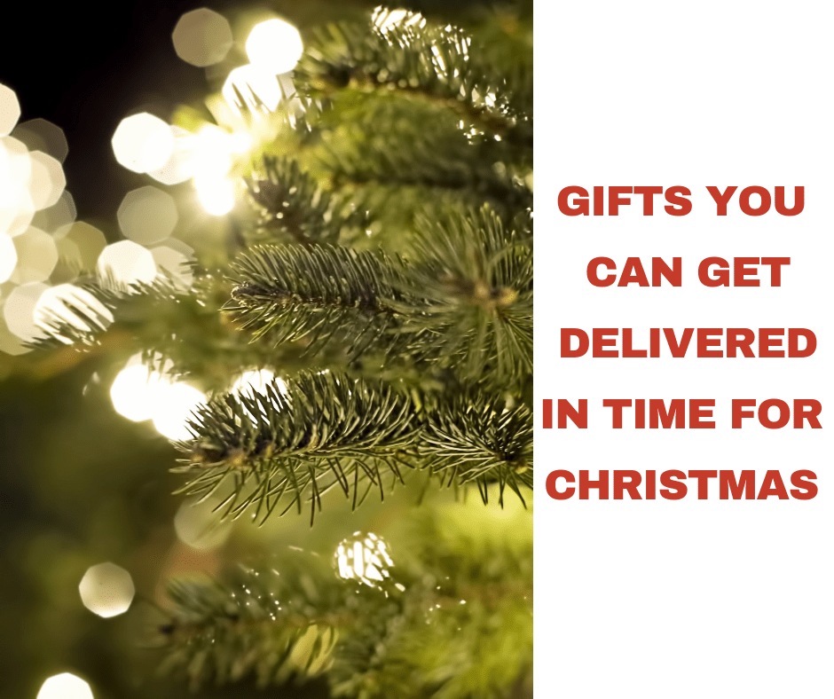 Gifts You Can Still Get Delivered in Time for Christmas