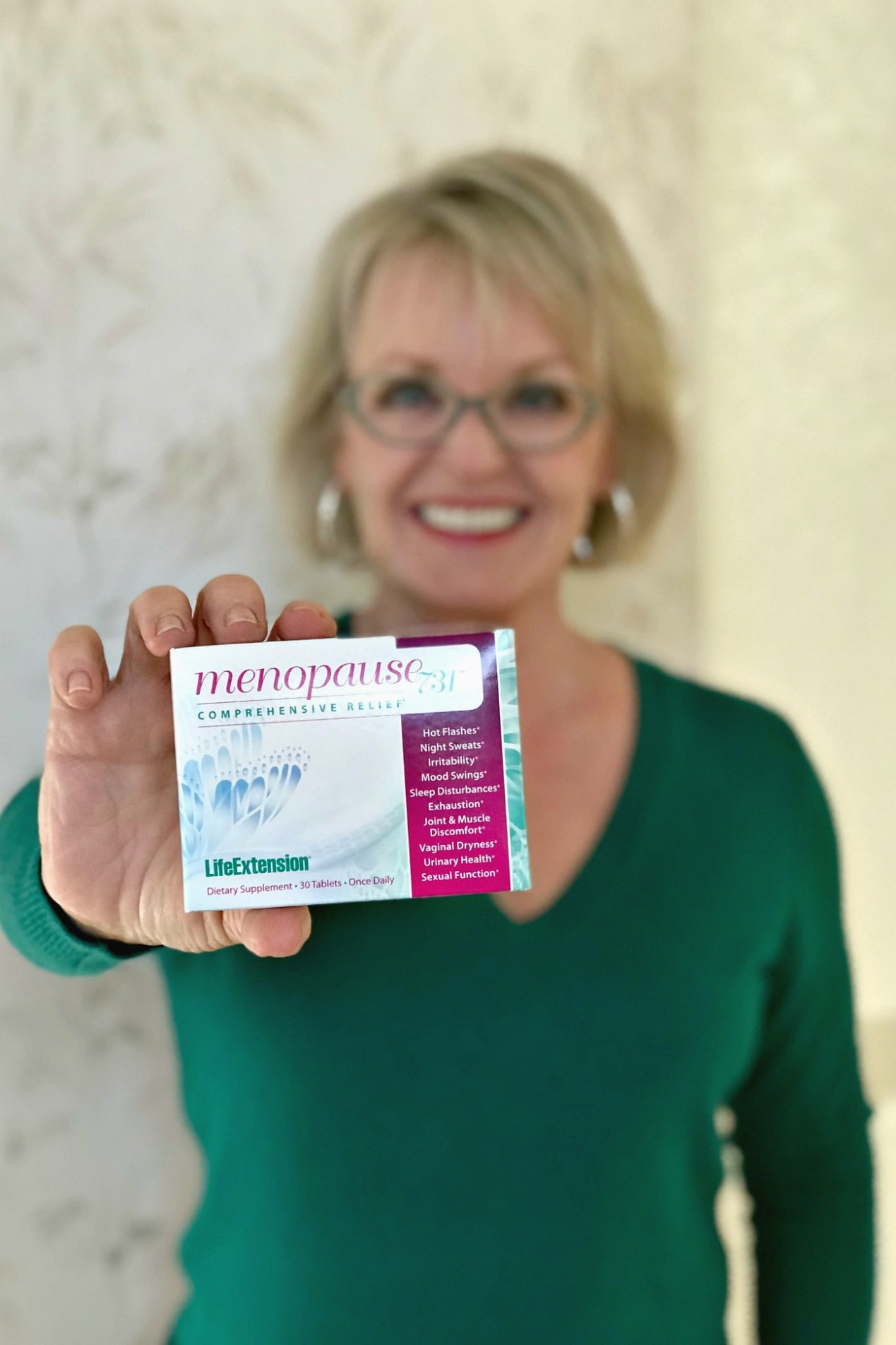 Managing Menopause with a Supplement