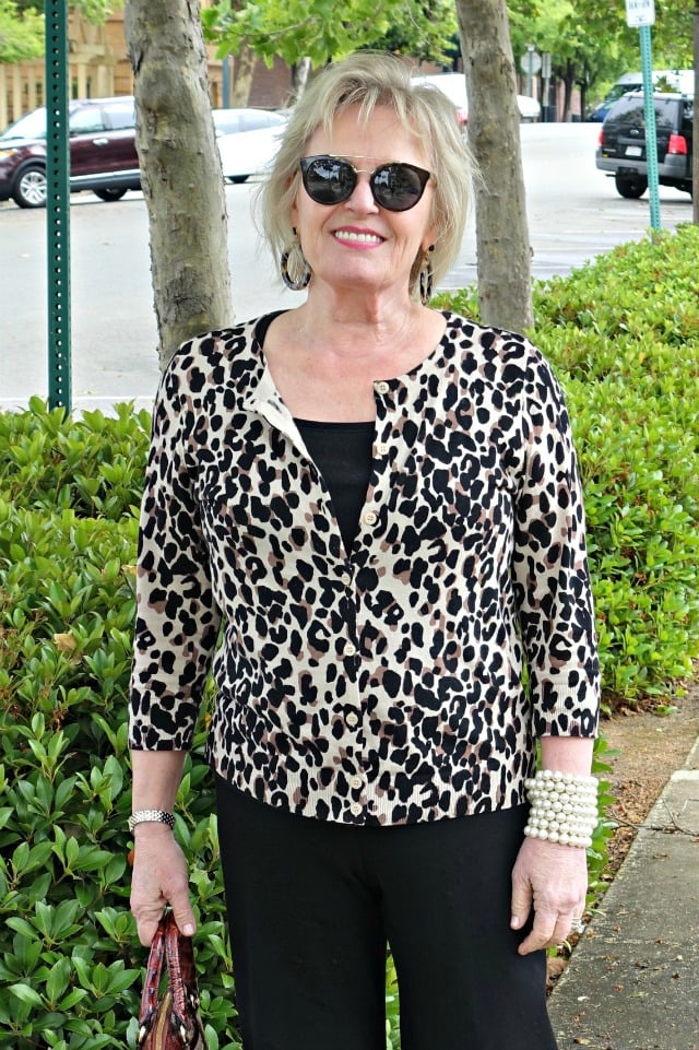 leopard cardigan from Nordstrom