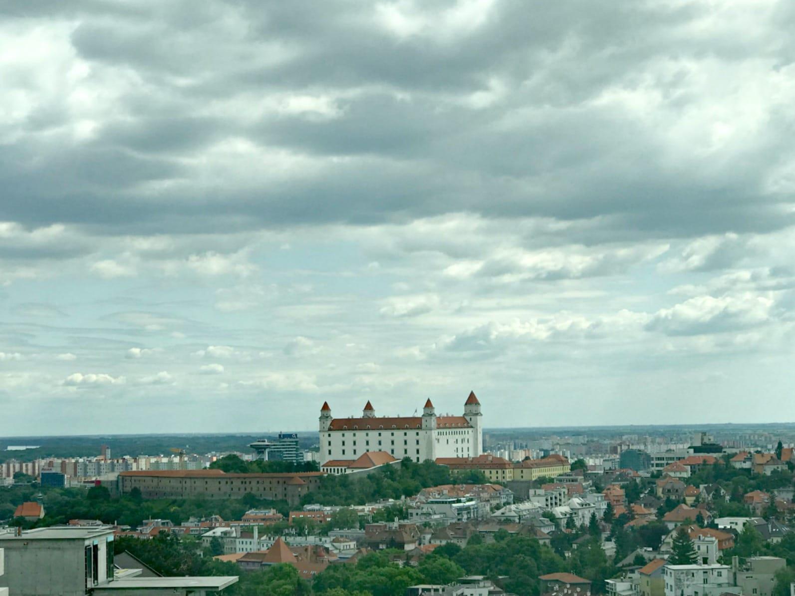 Castle in Bratslavia