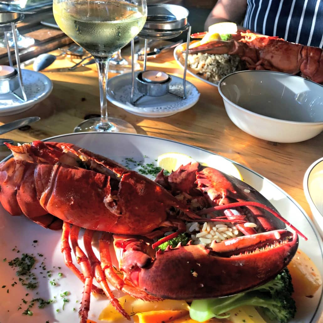 lobster meal on A Well Styled Life