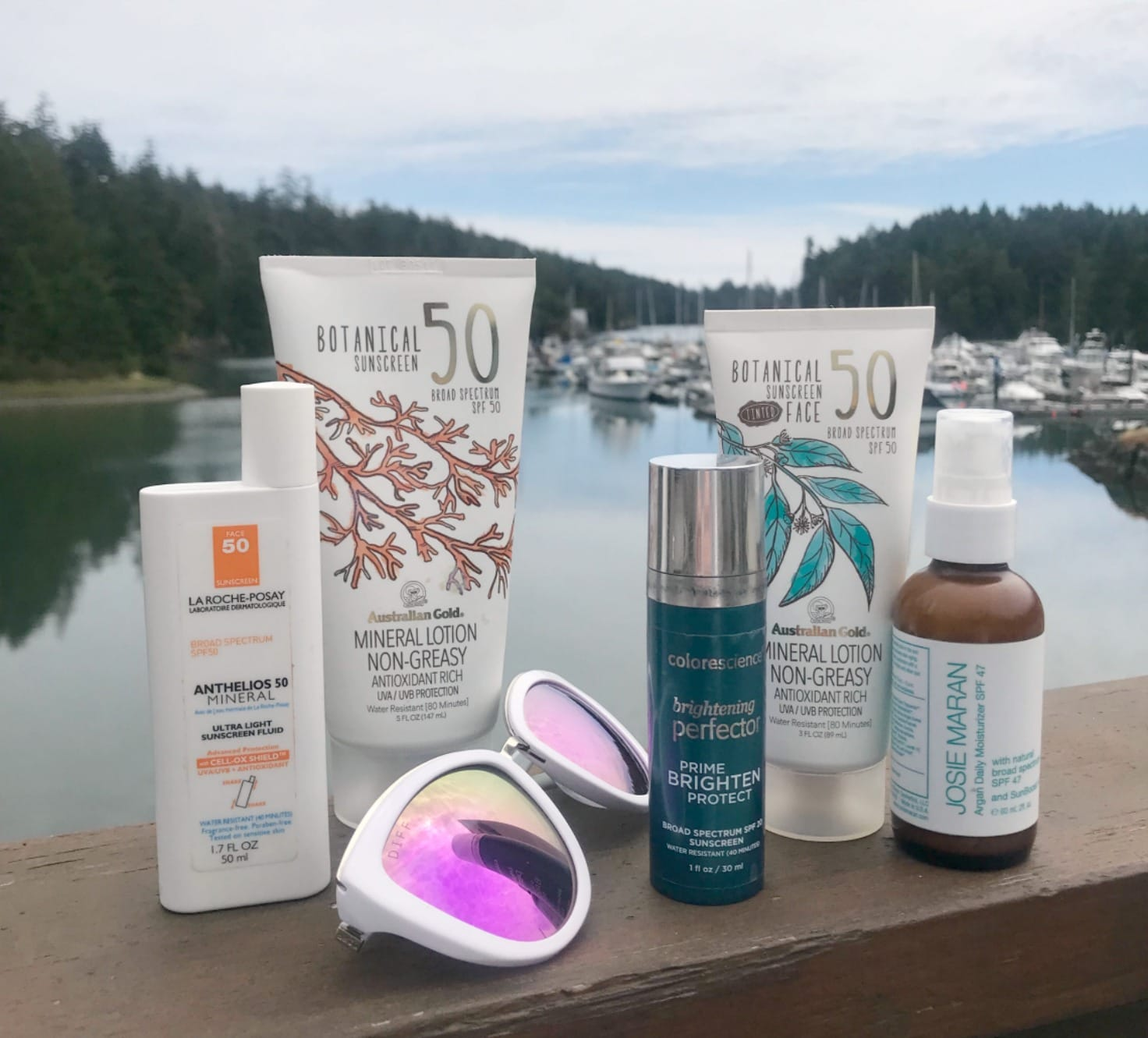 Mineral sunscreens on A Well Styled Life