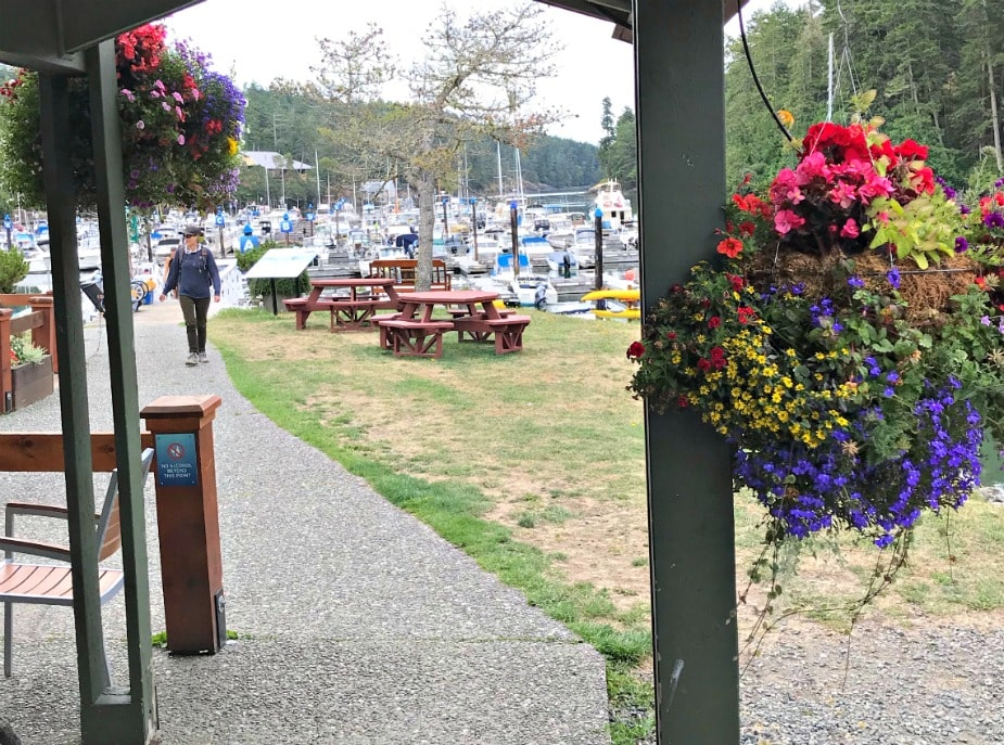 entrance to Pedder Bay Marina on A Well Styled Life