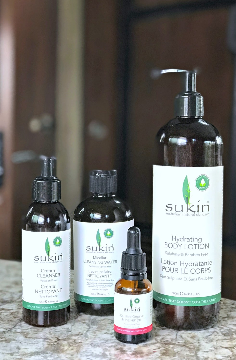 Sukin skin products on A Well Styled Life