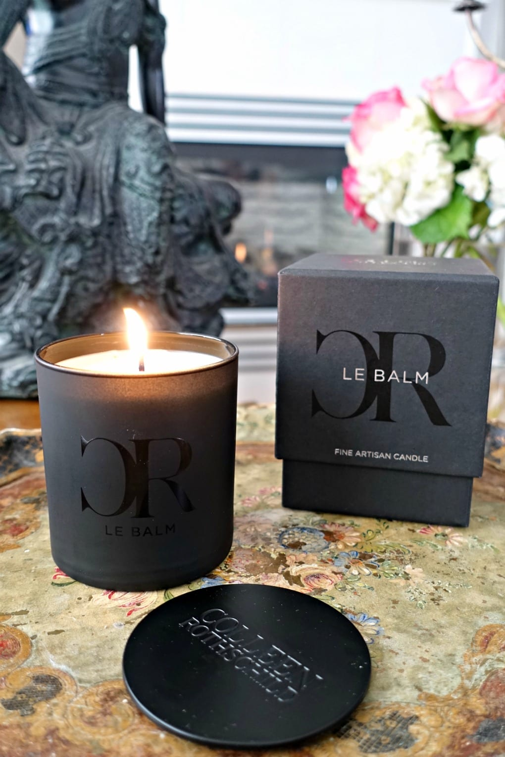 Colleen Rothschild candle on A Well Styled Life