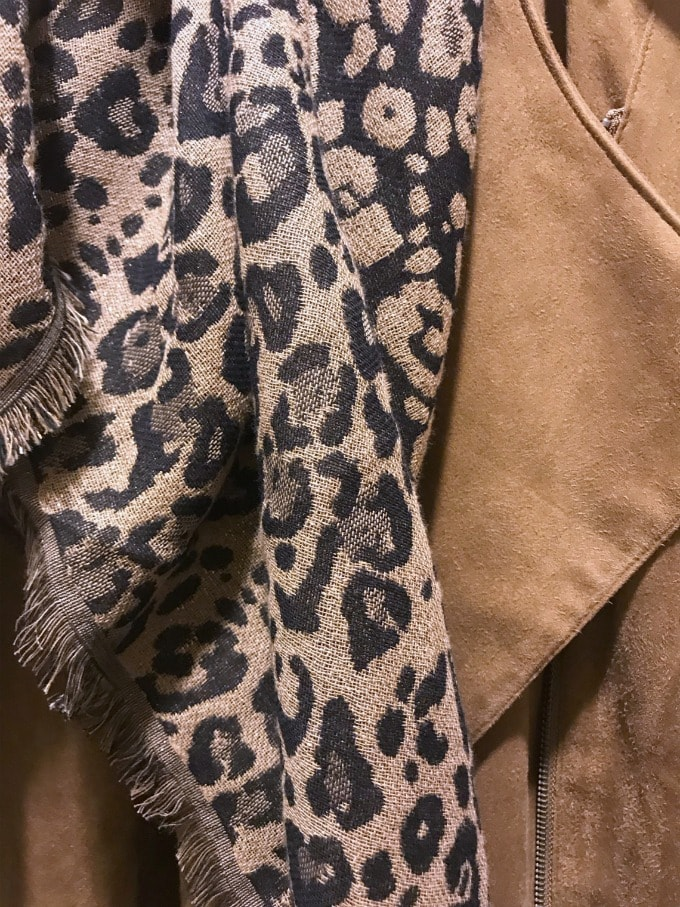 leopard and faux suede at j.jill
