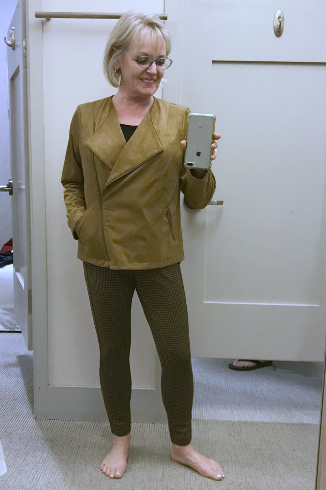 Microsuede Moto Jacket from j.jill on A Well Styled Life