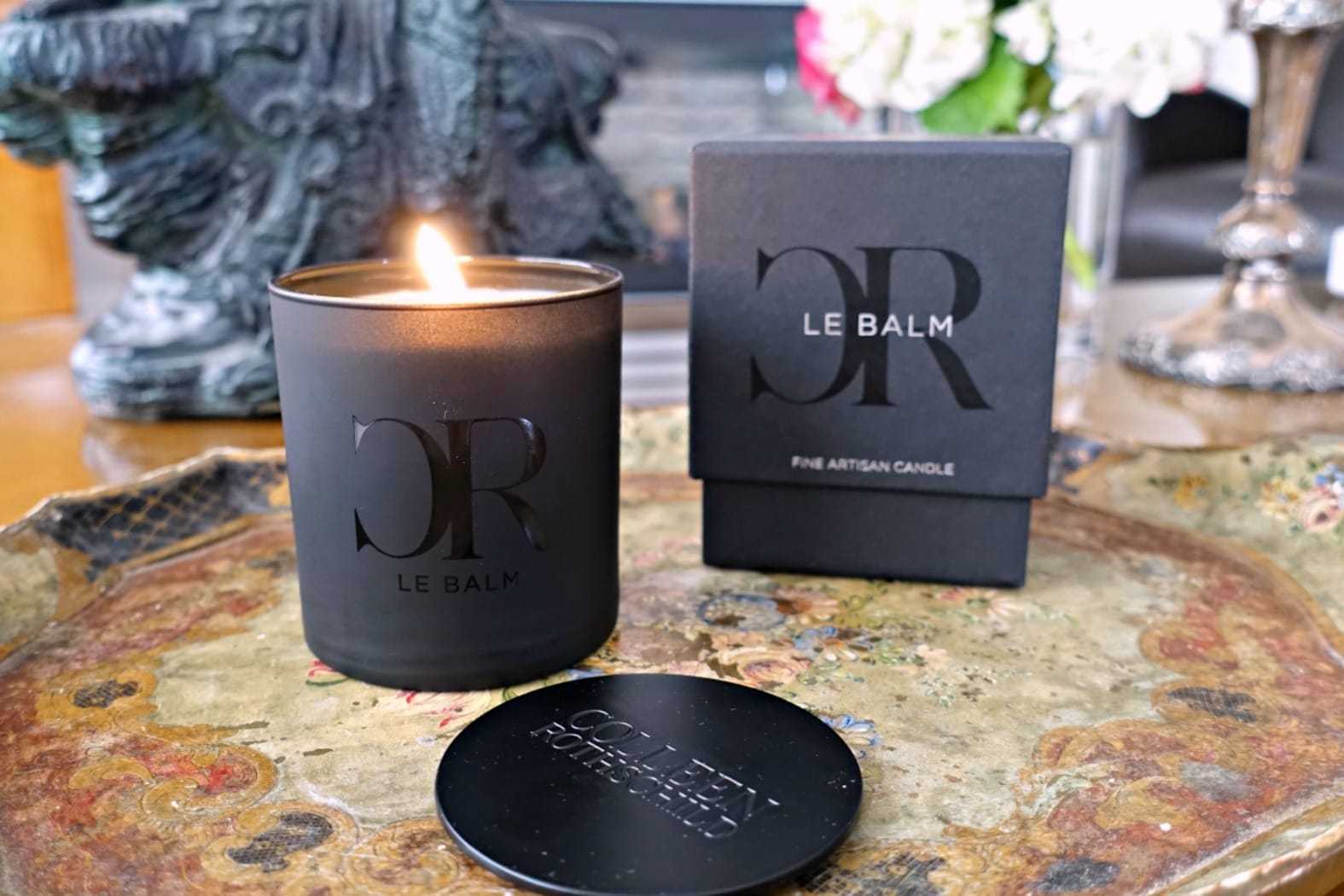 Le Balm candle from Colleen Rothschild