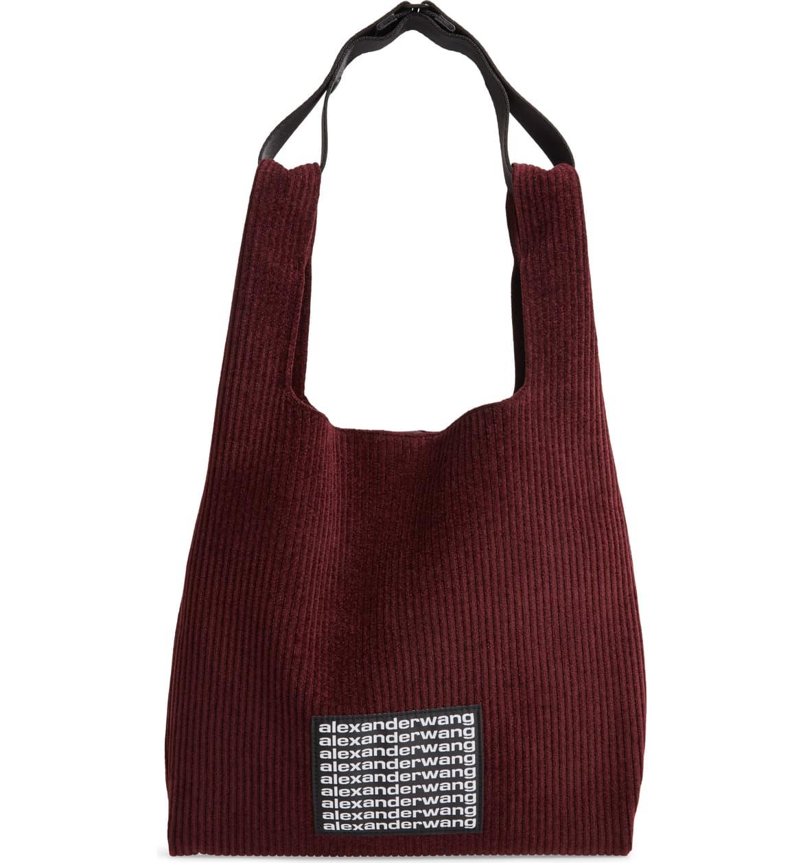 corduroy shoulder bag