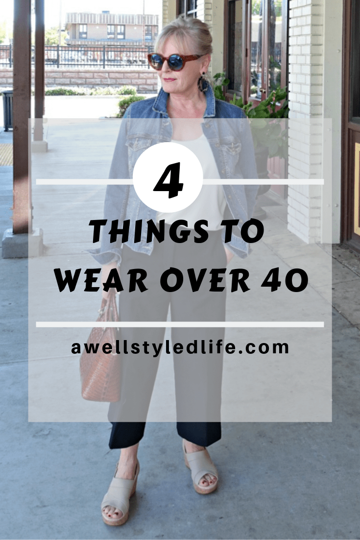 Four Things to Wear Over 40