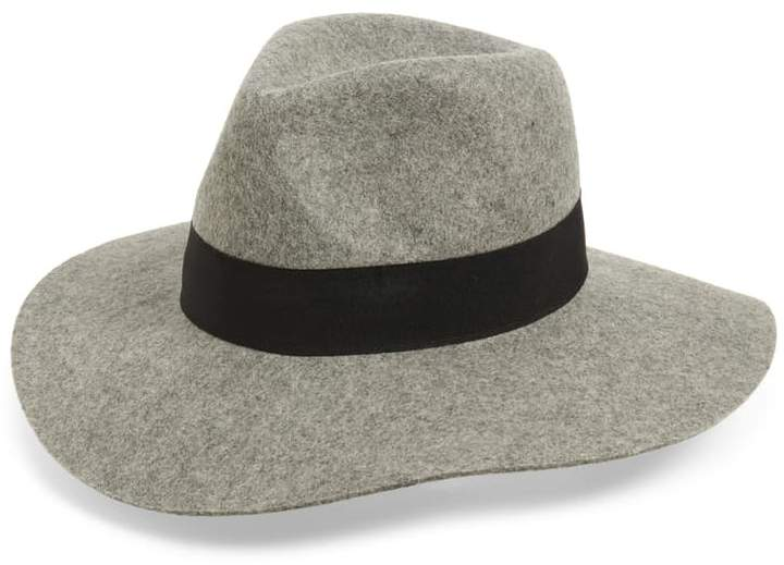 wool fedora on A Well Styled Life