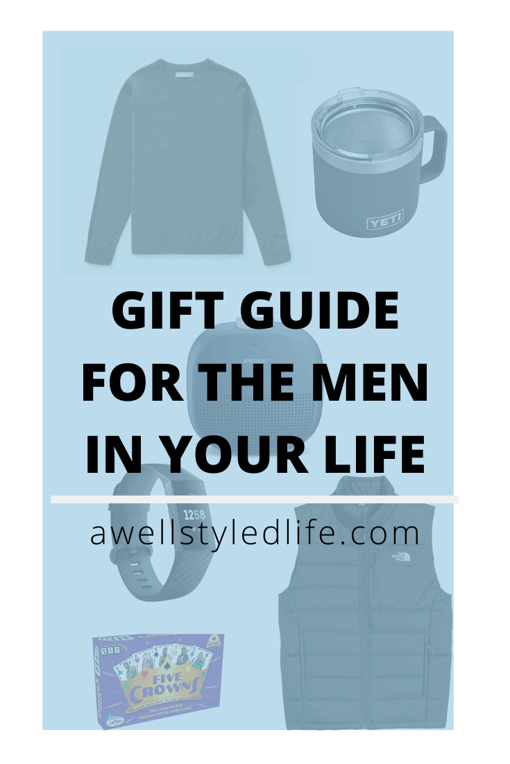 Eight Days Of Giving: A Gift Guide for the Men in Your Life