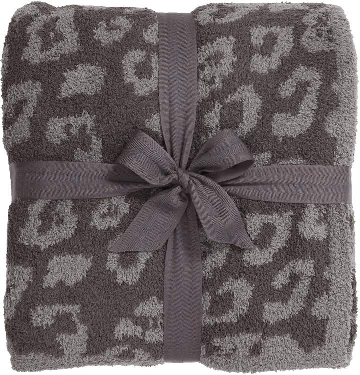 leopard throw blanket from Nordstrom