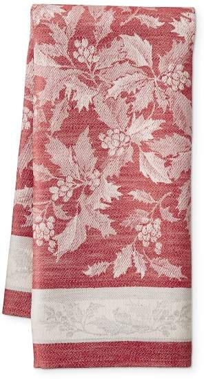 holly tea towel from William Sonoma on A Well Styled Life