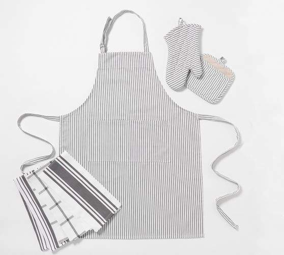 apron set from Pottery barn
